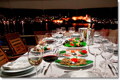 Turkish Cuisine Dinner